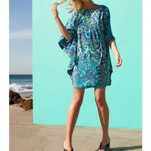 Trina Turk Graciella Silk Shift Dress